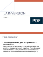 Clase 7 La Inversion