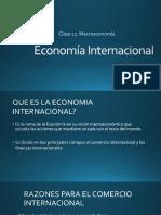 Clase 12. Economía Internacional