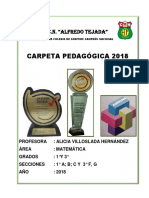 Carpeta Pedagógica 2018-1