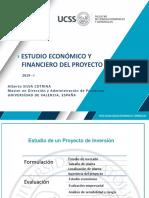 Estudio Economico y Financiero Del Proyecto