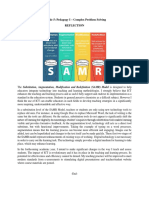 module 5 pedagogy i complex problem solving reflection