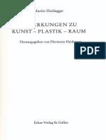 01 Martin Heidegger - Bemerkungen zu Kunst – Plastik - Raum (1964).pdf