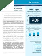 Costo de la Deuda en Colombia
