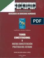 Arias - Teoria Constitucional y Nueva Constitucion Politica del Estado - Boris Arias.pdf