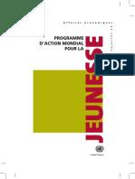 Programme Mondiale de La Jeunesse2010FR