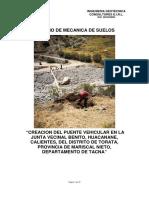 1.- Estudio de Mecanica de Suelos, Canteras y Fuentes de Agua.