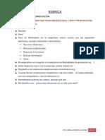 Contenidos y Estructura Del Anteproyecto