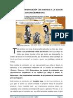 EL MODELO DE INTERVENCIÓN QUE SUBYACE A LA ACCIÓN TUTORIAL EN LA EDUCACIÓN PRIMARIA