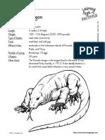 Fact Sheets amfibieni