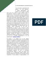 Imparcialidad en El Procedimiento Administrativo (1)