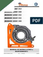 Manual de Instrucciones y Mantenimiento - Equipos Alternos