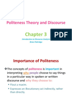 Politness theory
