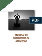 Fichas de Tolerancia Al Malestar