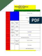 ABS CBN Schedule (1992 2003)