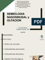 Semiologia Nasosinusal