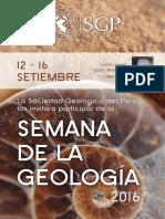 Semana Geología