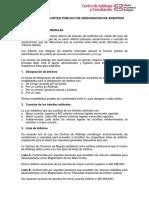 Reglamento Del Sorteo Público de Designación de Árbitros.