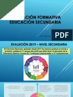 Evaluacion Secundaria 2019