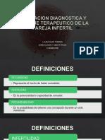Evaluación Diagnóstica y Enfoque Terapéutico de La Pareja Estéril
