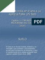 Componentes de La Comunidad Microbiana Del Suelo