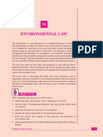 Environmental Law Lecture Notes & eBook