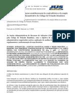 A Aplicação Dos Princípios Constitucionais Do Contraditório e Da Ampla Defesa No Processo Administrativo Do Código de Trânsito Brasileiro - Jus Navigandi