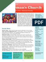 st germans newsletter - 9 june 2019 - pentecost