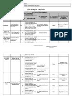 4. Gap Analysis Template