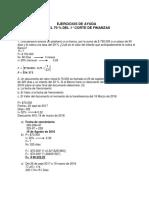 Taller de Ejercicios de Matematicas Financiera
