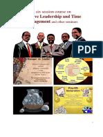 241159804 Effective Leadership and Time Management ELTM