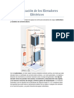 Clasificación de Los Elevadores Eléctricos