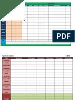Modelos de planilhas organizacionais