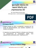 Configuração Básica Do Firmware Marlin