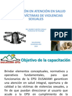 Diapositivas Atencion Integral a Victimas de Violencia Sexual y Ruta de Atencion 2019