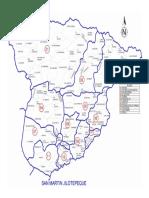 Mapa de San Martin Jilotepeque