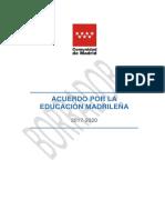 Acuerdo Por La Educacion