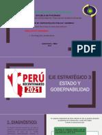 SEGUNDA LECTURA-Eje Estratégico 3 Estado y Gobernabilidad