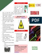 Seguridad en Trabajos Con Laser