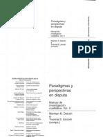 Norman Denzin, Paradigmas y Perspectivas en Disputa