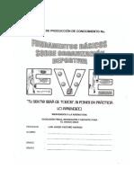 Fundamentos Basicos Sobre Organizacion Deportiva GRADOS 9 - 10