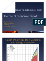 Energy return on investment, peak oil, and the end of economic growth (Murphy, (2010)