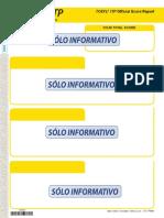 TOEFL Itp Official Score Report Soloinformativo
