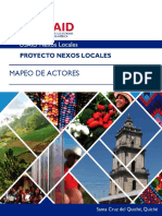 Mapeo Actores Santa Cruz Del Quiche