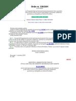 Ordin Nr. 538 Din 2001 Autorizare Topo