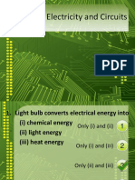 Quiz on Electricity