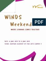 WINDS Weekend 2019 Band Directors Circular