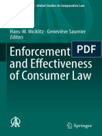 (Ius Comparatum - Global Studies in Comparative Law 27) Hans-W. Micklitz, Geneviève Saumier - Enforcement and Effectiveness of Consumer Law-Springer International Publishing (2018)