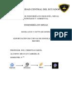 Topografía en RecMin_Cabrera Brayan