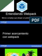 Entendiendo Webpack