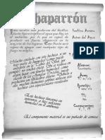 Chaparrón BN
